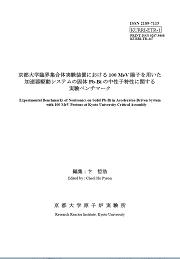KURRI Technical report